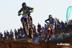 Jake Cuka (482) and Zach Wright